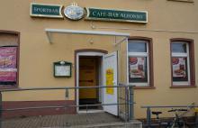 Cafe und Bar Alfonso in Delitzsch Unterer Bahnhof